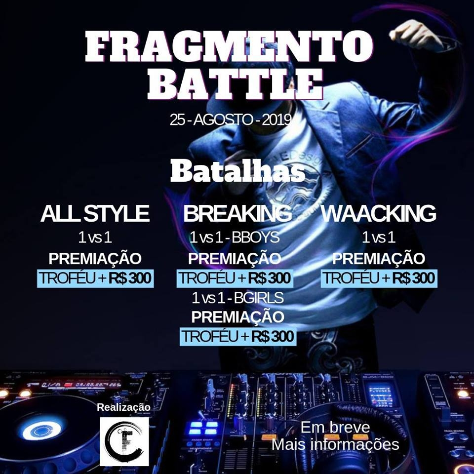 Fragmento Battle - Manaus AM 2019 poster