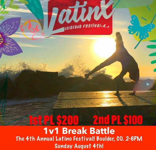 Breaking Battle at The Latino Festival 2019 poster
