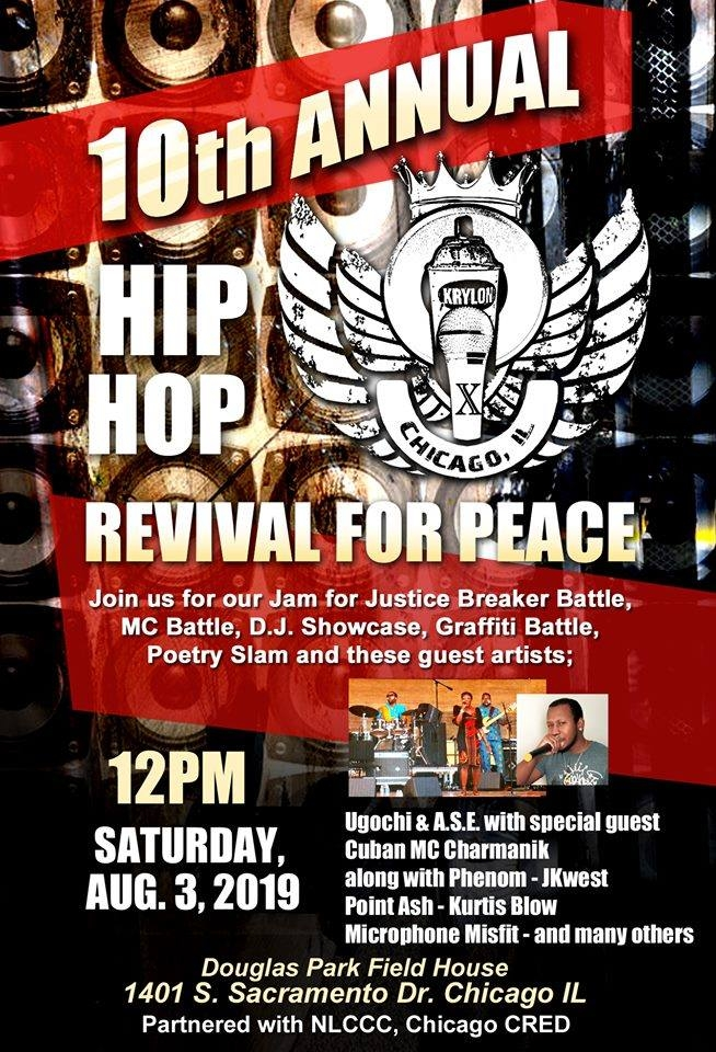 10th Annual Hip Hop Revival 2019 poster
