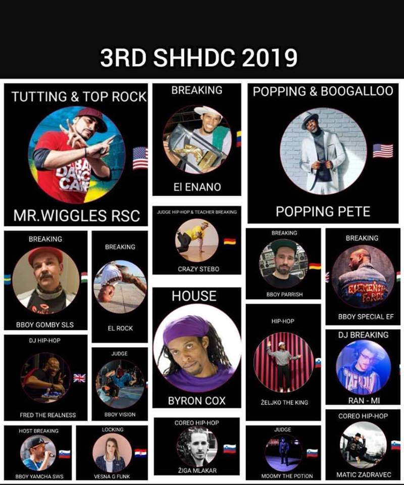 3rd Slovenian Hip-Hop Dance Convention & 10 y. of Funky Rockerz 2019 poster