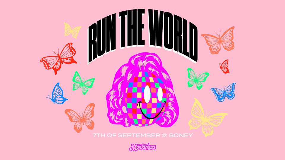 Run The World 2019 poster