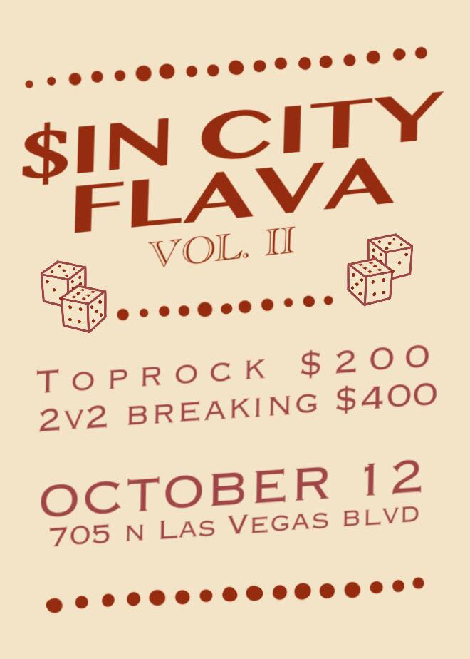 $in City Flava 2019 poster