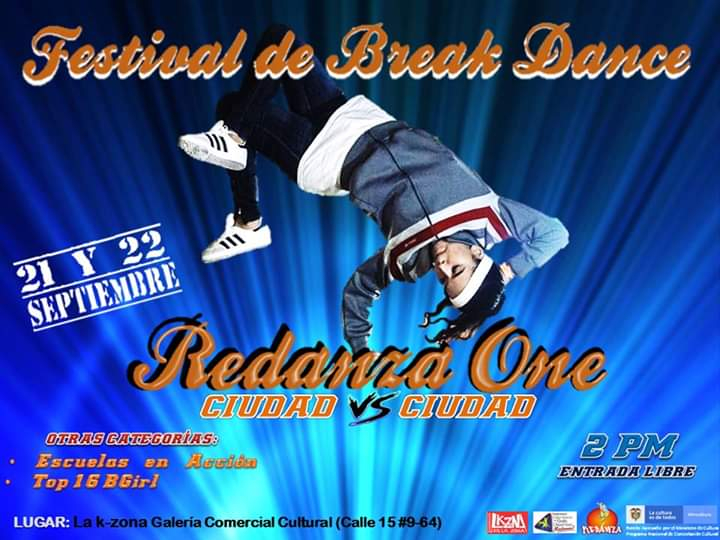Festival De Break Dance Redanza 2019 poster