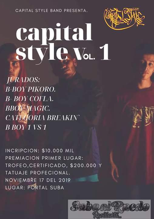 Capital Style 2019 poster