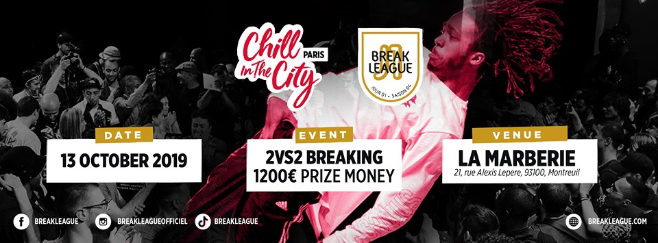 Chill in the city - Breaklague Saison 2019 poster