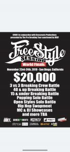 Freestyle Session World Finals 2019