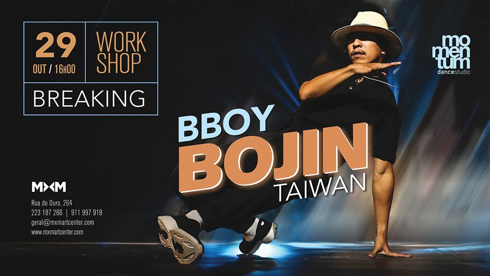 Workshop: Bboy Bojin 2019 poster