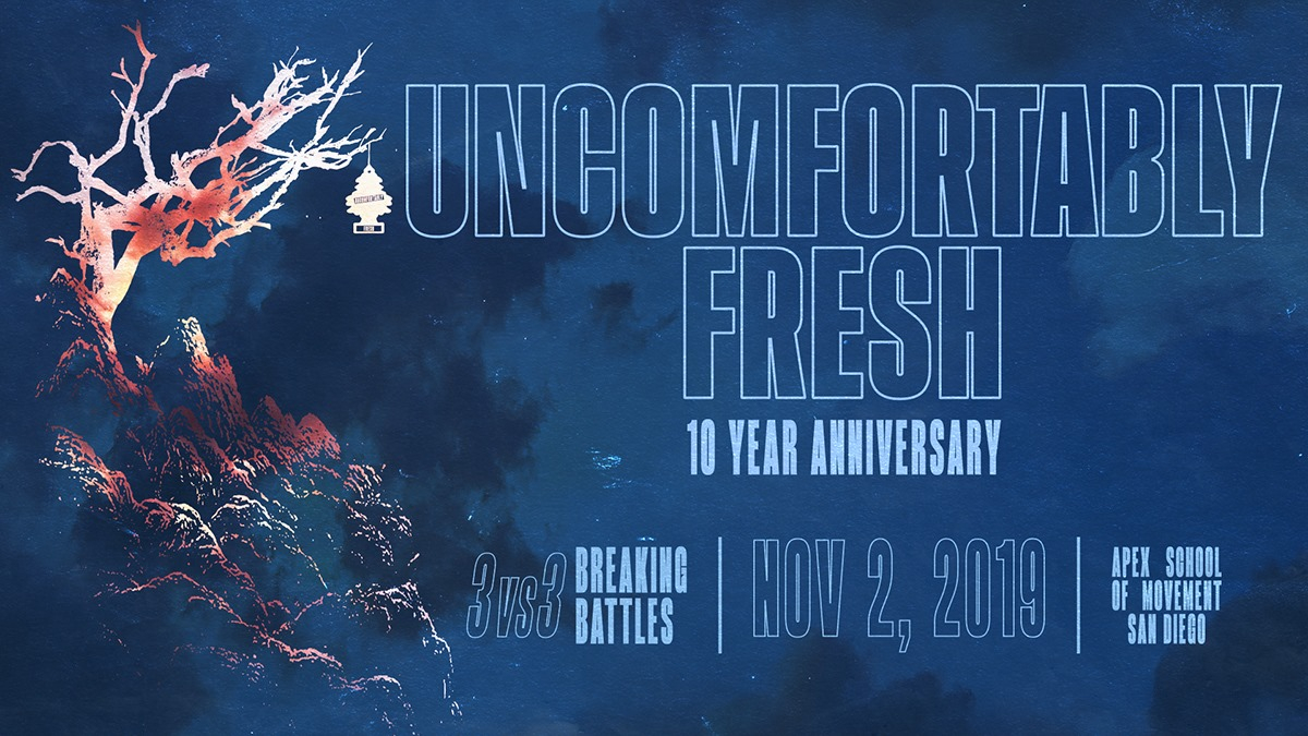 Uncomfortably Fresh | 10 Year Anniversary 2019 poster
