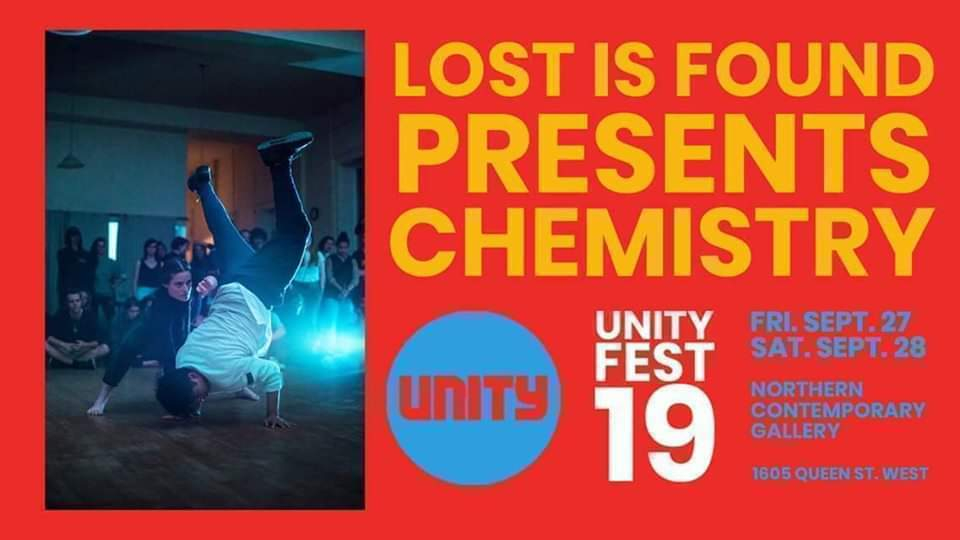 Chemistry at Unity Fest 2019 poster