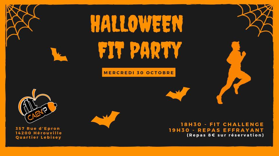 Halloween Fit Party 2019 poster