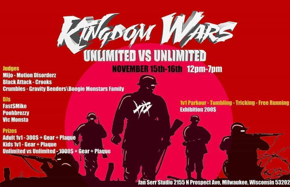 Kingdom Wars | Unlimited Vs Unlimited & 1v1 - Crew Battle 2019 poster