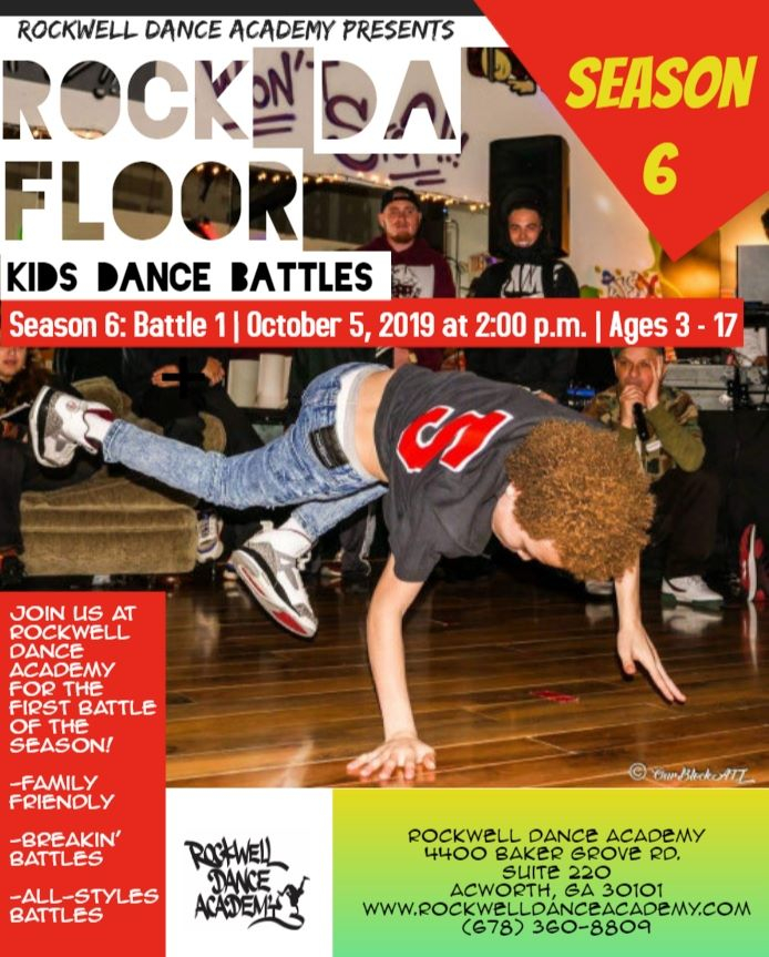 RDF Kids Dance Battles Season 6 Battle 2019 poster