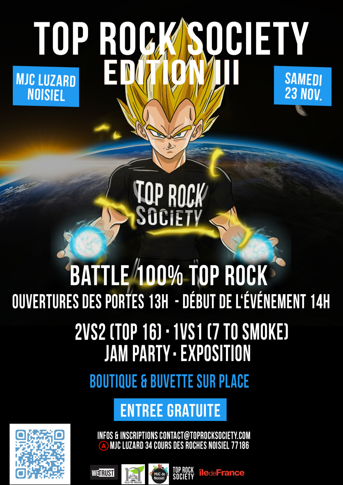 Top Rock Society Battle 2019 poster