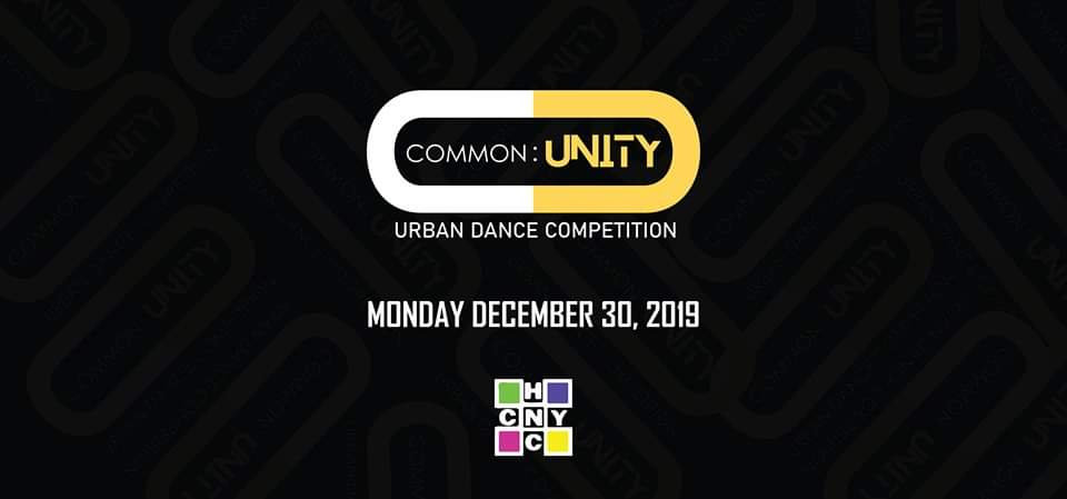 Common:Unity Urban Dance Competition 2019 poster