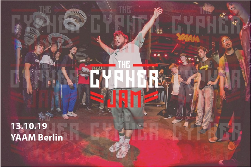 The Cypher JAM - All STYLEs Party w/Live Band 2019 poster