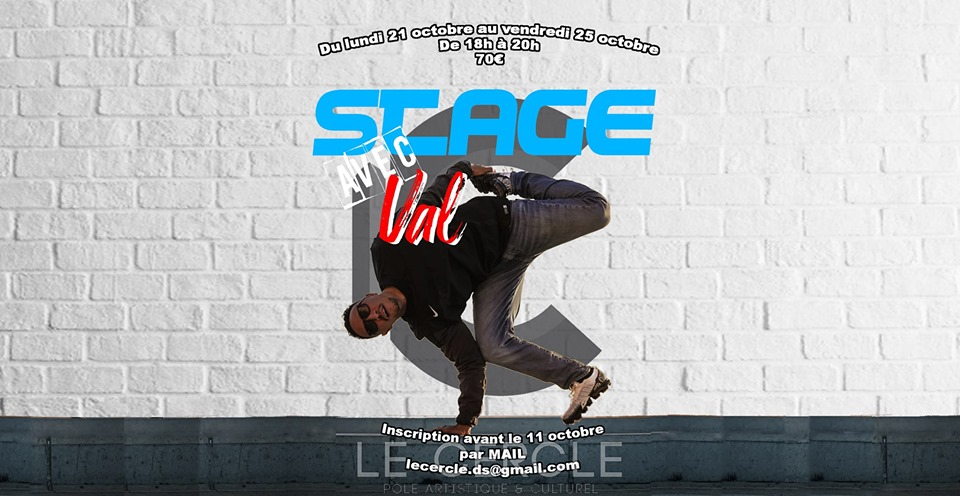 Stage intensif Bboy Val 2019 poster