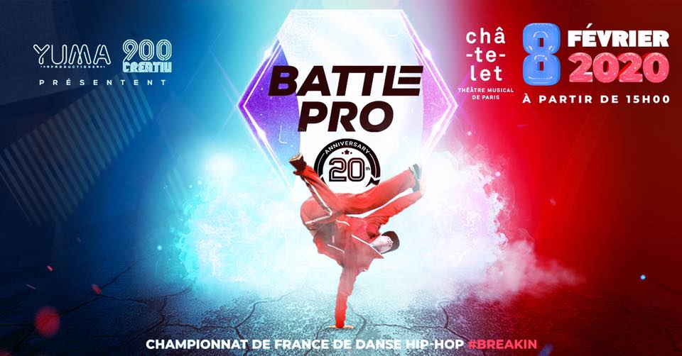 Battle Pro « Qualification France » 2019 poster