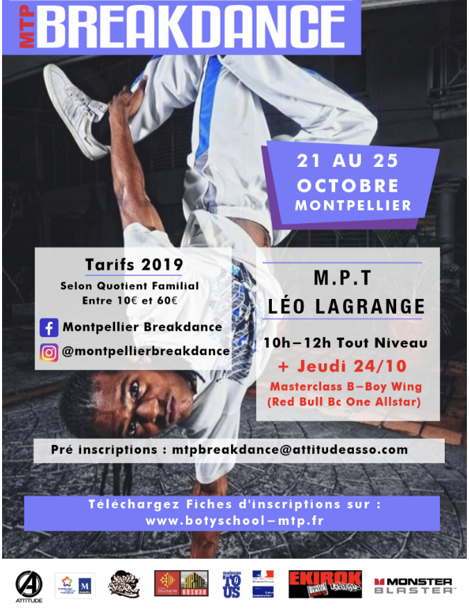 STAGE DE BREAKDANCE poster